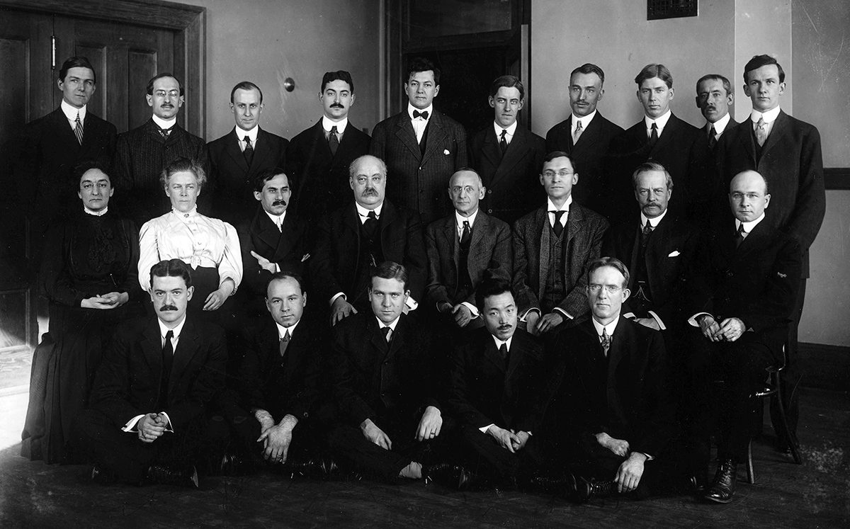 RIMR Lab Staff (Wollstein middle row, first from left)