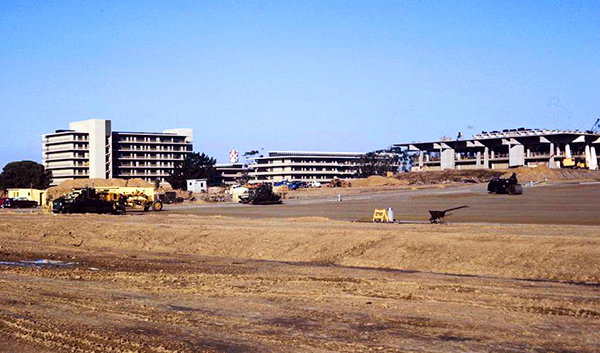 UCSD Revelle College campus under construction, 1964