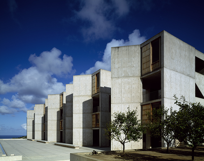Salk Institute for Biological Studies buildirightngs designed by Louis Kahn