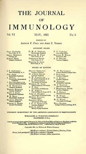 Vol. 6, Issue 3; May 1, 1921