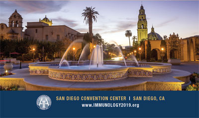 IMMUNOLOGY 2019TM Call for Abstracts